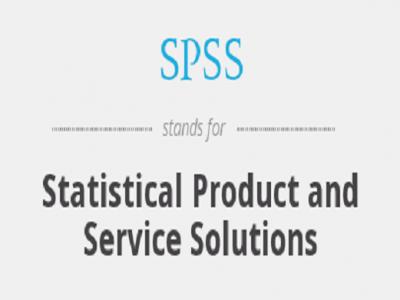SPSS- Ensemble des Programmes Statistiques Pour les Sciences Sociales