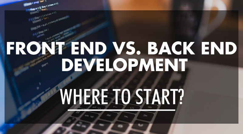 front end vs backend dev